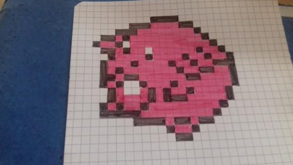 agrandir un pixel art