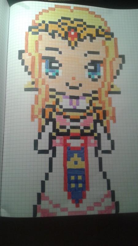 Pixel Art Beau