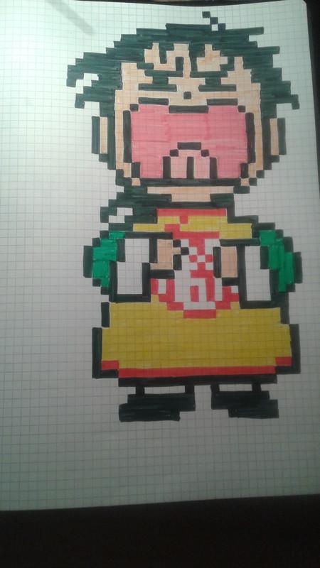 Pixel Art De Gohan