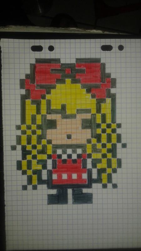 Pixel Art Facile Pour Fille De 9 Ans