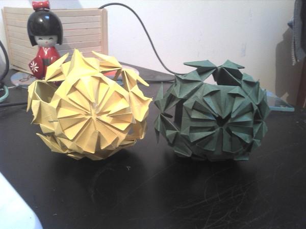 boule no l origami. Black Bedroom Furniture Sets. Home Design Ideas