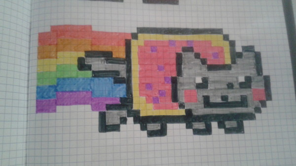 Pixel Art Petit Carreau Pokemon