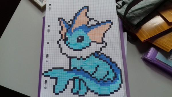 Pixel Art Evolie