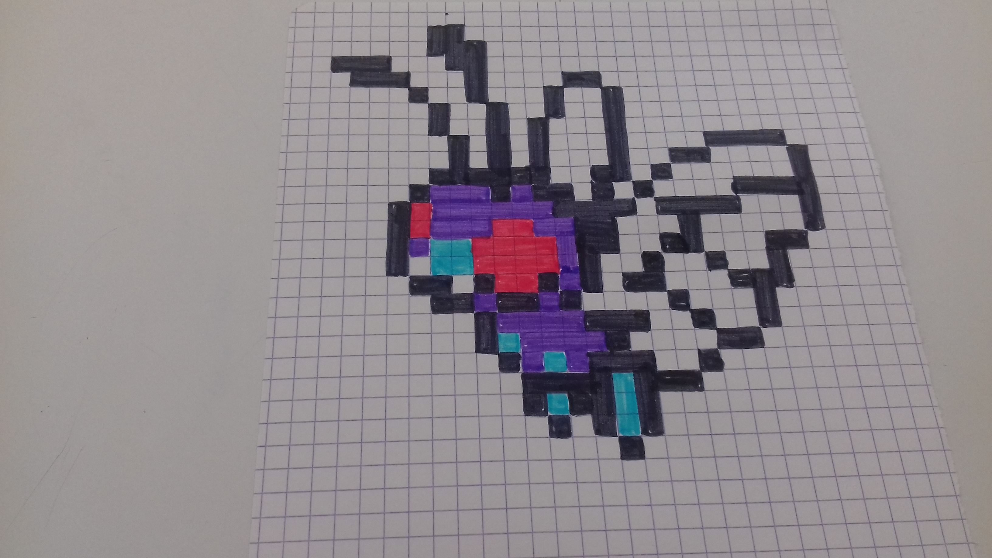 Pixel Art Pokemon Facile A Faire Tuto Poussifeu En Pixel
