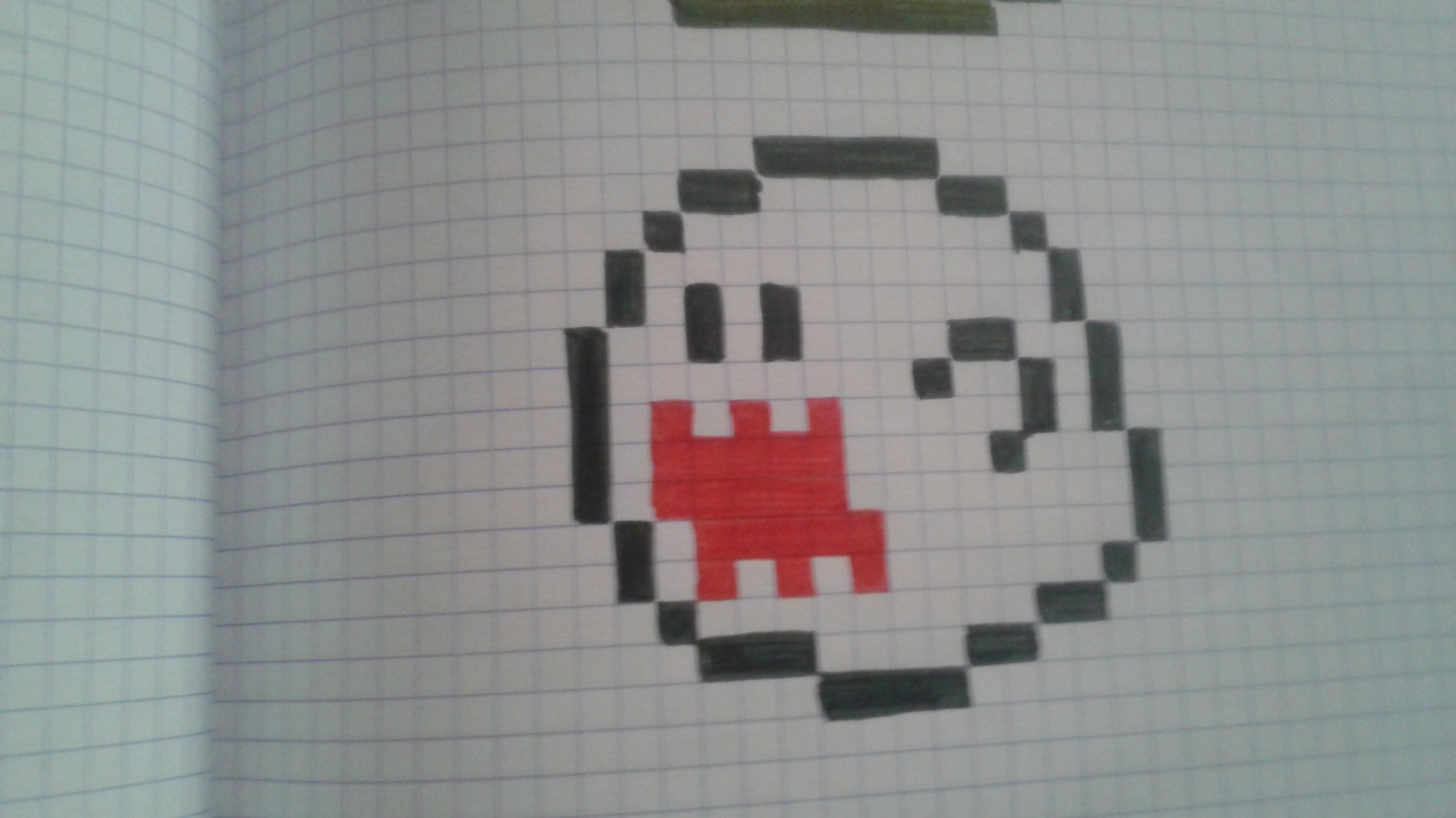 Pixel Art Facile à Faire Panda